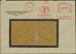 Allemagne 1930. EMA Francotyp. Indanthren. Couleurs Qui Résistent Au Soleil Et à La Pluie (textile) - Textile