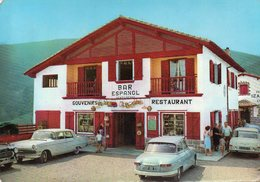 Col D ' Ibardin - Bar Espanol - Vera De Bidasoa (voitures Opel , Panhard ) - Navarra (Pamplona)