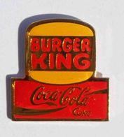 Pin's COCA COLA Burger King - Coca-Cola