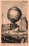 CPM - VERSAILLES - Ascension D'une Montgolfière (estampe) - Balloons