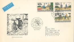 Fahrrad Hochrad Damenrad Herrenrad Heissluftballon - Czechoslovakia