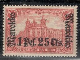 MAROC.Bureaux Allemands.1911.Michel N°55.NEUF.19C75 - Deutsche Post In Marokko