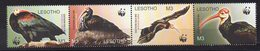 LESOTHO  Timbres  Neufs ** De 2004  ( Ref 6286 ) Animaux - Oiseaux Rapaces - WWF - Lesotho (1966-...)