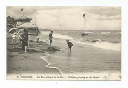 Cabourg - Les Travailleurs De La Mer  - Animé ( Enfants Sur La Plage) - Cabourg