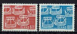 Island 1969 // Mi. 426/427 ** - 1944-... Republique