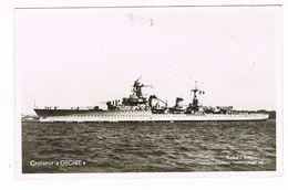 CPA.Bateau. Navire.Croiseur.GLOIRE.   (F.689) - Paquebots