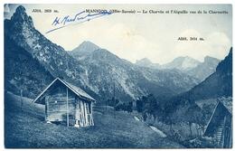 74 : MANIGOD - LE CHARVIN ET L'AIGUILLE VUS DE LA CHARMETTE - Frankrijk