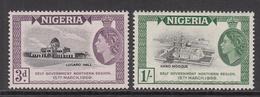 1959 Nigeria Self Government Mosque Complete Set Of 2 MNH - Nigeria (1961-...)