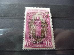 TIMBRE  OUBANGUI   N  77      COTE  3,10  EUROS   NEUF  SANS  CHARNIÈRE - Ubangui (1915-1936)