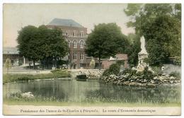 BELGIQUE : PERUWELZ - PENSIONNAT DES DAMES DE ST CHARLES - LE COURS D'ECONOMIE DOMESTIQUE - Péruwelz