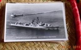 ESCORTEUR D'ESCADRE JAUREGUIBERRY- CPSM CARTE PHOTO FORMAT CPA ECRITE - - Guerra