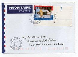 Enveloppe Avec Le N° 571  Oblitéré De  POUHEVA  MAKEMO - Lettres & Documents