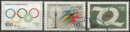 TURKEY 1972 - Mi. 2261-63 O, Munich Olympic Games - 1921-... Republik