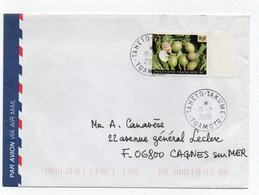 Enveloppe Avec Le N° 598  Oblitéré De  TAHETO  TAKUME - Lettres & Documents