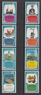 1970 Nigeria Independence Oil Petroleum Cocoa Football Military Horse  Complete Set Of 8. MNH - Nigeria (1961-...)