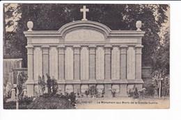 105 - YVETOT - Le Monument Aux Morts De La Grande Guerre - Yvetot