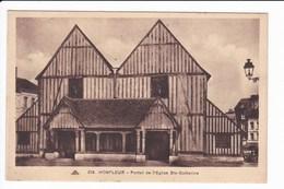 226 - HONFLEUR - Portail De L'Eglise Ste-Catherine - Honfleur