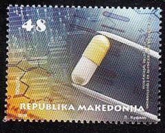 MACEDONIA, 2018, 830 - 75 YEARS DISCOVERY OF STREPTOMYCIN / TUBERCULOSUS ** - Macédoine