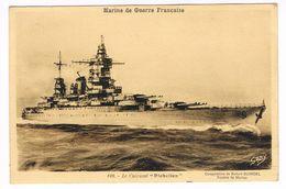 "CPA. Bateau. Le Cuirassé.""Richelieu""  (F.720) - Paquebote"