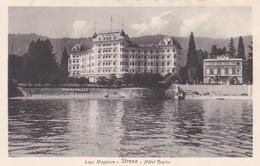 LAGO MAGGIORE. STRESA. HOTEL REGINA. PAOLO DOLEI. CPA CIRCA 1940s - BLEUP - Verbania