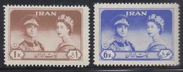 Persien / Iran 1961 Besuch Von Königin Elizabeth II.  Mi.-Nr. 1088-89 ** - Iran