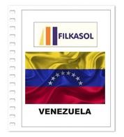 Suplemento Filkasol Venezuela 2012-18 + Filoestuches HAWID Transparentes - Pre-Impresas