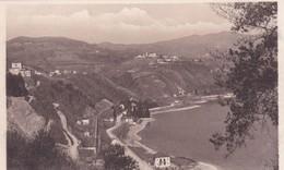 LAGO MAGGIORE. ARONA. MONTE S.CARLO E DAGNENTE FVISTI DALLA ROCCA. A.PAPINI. CPA CIRCA 1940s - BLEUP - Verbania