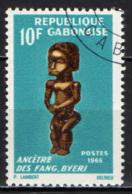 GABON - 1966 - MASCHERE - MASKS - INTERNATIONAL NEGRO ARTS FESTIVAL - DAKAR - USATO - Gabon (1960-...)