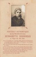 SANTINO - S. BERNADETTE SOUBIROUS - - Devotion Images