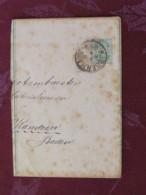 Denmark Around 1890 Stationery Newspaper Band Copenhagen To Baden Germany - Arms Lions - 1864-04 (Christian IX)
