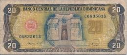 Banconota Da 20   VEINTE  PESOS   ORO -  Repubblica  Dominicana  -  Emissione Anno  1986. - Repubblica Dominicana