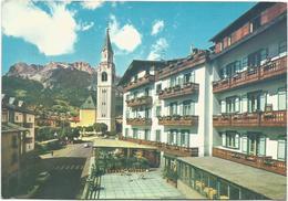 W2107 Cortina D'Ampezzo - Hotel Ancora - Panorama / Viaggiata 1964 - Italia