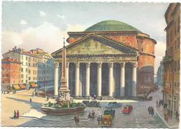 W2113 Roma - Il Pantheon - Illustrazione Illustration G. Grossi / Non Viaggiata - Panthéon