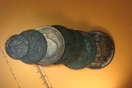 Lot De 6 Monnaies Bronzes  (67) - France