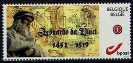 Belgie Belgien 2019 - Leonardo Da Vinci - OBP 4183a - Bélgica