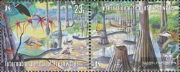 UN - New York 929-930 Couple (complete Issue) Unmounted Mint / Never Hinged 2003 Süßwasser - New York – UN Headquarters