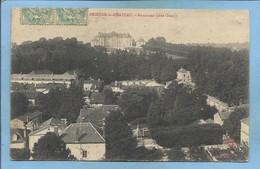 """Brienne-le-Château (10) Panorama (côté Ouest) 2 Scans 1905 Carte Adressée à Chevillon 52 Cachet """"Troyes à St-Dizier"""" - France"""
