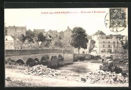 CPA Pacy-sur-Armancon, Pont-sur-l`Amancon - France