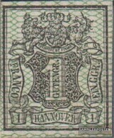 Hannover (Altdeutschland) 9 Multa (B-Qualità) Usato 1856 Crown - Hannover