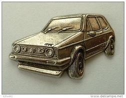 PIN'S VOLKSWAGEN GOLF GTI RELIEF 3D - Volkswagen