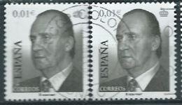 ESPAGNE SPANIEN ESPAÑA SPAIN 2002 King Juan Carlos I  USED ED 3857 YV 3424 MI 3704 SG 3814 SC 3133 - 1931-Heute: 2. Rep. - ... Juan Carlos I