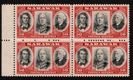 Sarawak - Scott #157 MNH - Block Of 4 (2) - Sarawak (...-1963)