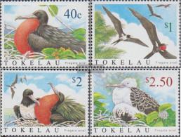 Tokelau 348-351 (complete Issue) Unmounted Mint / Never Hinged 2004 Arielfregattvogel - Tokelau