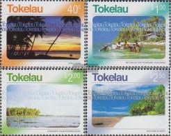 Tokelau 343-346 (complete Issue) Unmounted Mint / Never Hinged 2004 Views Of Tokelau - Tokelau