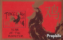 Tokelau Block32 (kompl.Ausg.) Postfrisch 2005 Chinesisches Neujahr - Tokelau