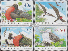 Tokelau 348-351 (kompl.Ausg.) Postfrisch 2004 Arielfregattvogel - Tokelau