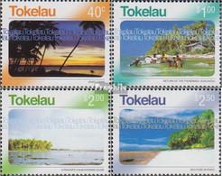 Tokelau 343-346 (kompl.Ausg.) Postfrisch 2004 Ansichten Von Tokelau - Tokelau