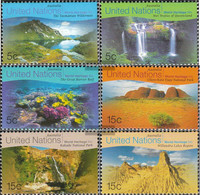 UN - New York 809-814 (complete Issue) Unmounted Mint / Never Hinged 1999 Culture- And Natural Heritage - New York – UN Headquarters