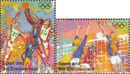 UN - New York 716-717 (complete Issue) Unmounted Mint / Never Hinged 1996 Olympics Games - New York – UN Headquarters