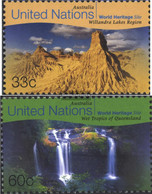 UN - New York 807-808 (complete Issue) Unmounted Mint / Never Hinged 1999 Culture- And Natural Heritage - New York – UN Headquarters